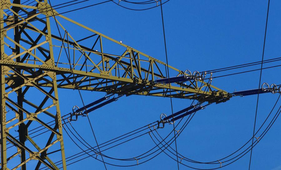 drohnen stromleitung inspektion